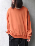 "【19AW】JieDa(ジエダ)  ""FRUIT OF THE LOOM SWITCHING SWEAT"" <スウェット> - PINK BEIGE"