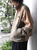 "【19AW】JieDa(ジエダ)  ""SWITCHING JACKET"" <ブルゾン> - BEIGE"