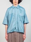 "JieDa(ジエダ)  ""DRAW CODE SHIRT"" <シャツ> - BLUE"