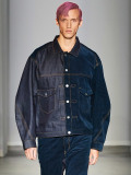 "【20AW予約商品】JieDa(ジエダ)  ""SWITCHING DENIM JACKET"" <ブルゾン> - INDIGO"