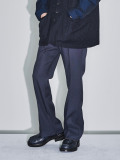 "【21SS予約商品】JieDa(ジエダ)  ""FLARE PANTS"" <フレアパンツ> - C.GRAY"