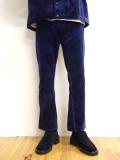 """【20AW受注会】JieDa(ジエダ)  """"VELVET FLARE PANTS"""" <パンツ>"""