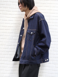 "【20SS】JieDa(ジエダ)  ""DENIM JACKET"" <デニムジャケット/ブルゾン>"