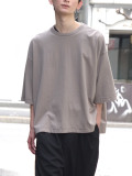 "JieDa(ジエダ)  ""BIG TEE FRUIT OF THE LOOM"" <Tシャツ/カットソー> - GRAY"