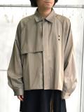 "【20SS】JieDa(ジエダ)  ""TRENCH SHIRT"" <トレンチシャツ> - BEIGE"