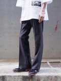 "【21SS】 JieDa(ジエダ)  ""FLARE PANTS"" <フレアパンツ> - C.GRAY"