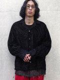 """JieDa(ジエダ)  """"OPAL OPEN COLLAR SHIRT LS"""" <オープンカラーシャツ>"""