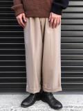 "【19AW】 JUHA (ユハ)  ""TAPERD CROPPED PANTS"" <スラックス/パンツ> - BEIGE"