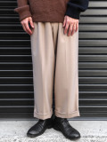 "【19AW】 JUHA (ユハ)  ""TAPERD CROPPED PANTS"" <スラックス/パンツ> - BEIGE"