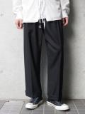 "【19AW】 JUHA (ユハ)  ""TAPERD CROPPED PANTS"" <スラックス/パンツ> - BLACK"