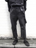 "<2020AW> JUVENILE HALL ROLLCALL[ジュベナイル・ホール・ロールコール] ""BELTED TAPERED PANTS ""1496"" <パンツ>"