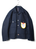 "【2020AW】 SHINYAKOZUKA (シンヤコズカ) ""TACKED-IN WITH DICKIES"" <シャツ / ブルゾン> - MIDNIGHT"