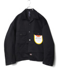 """【2020AW】 SHINYAKOZUKA (シンヤコズカ) """"TACKED-IN WITH DICKIES"""" <シャツ / ブルゾン> - BLACK"""