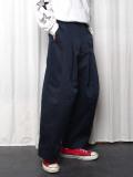 "【2020AW】 SHINYAKOZUKA (シンヤコズカ) ""BAGGY WITH DICKIES"" <パンツ> - MIDNIGHT"