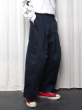 "【2020AW】 SHINYAKOZUKA (シンヤコズカ) ""BAGGY WITH DICKIES"" <パンツ> - MIDNIGHT"