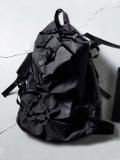 """MACROMAURO (マクロマウロ) // """"KAOS SMALL"""" <バックパック/リュック> - BLACK"""