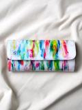 "macromauro (マクロマウロ) // ""PAINT WALLET LONG"" <長財布> - WHITE-""A"""