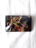 """macromauro (マクロマウロ) // """"PAINT CARD CASE"""" <カードケース> - BLACK-""""C"""""""