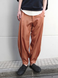 "<19SS> MASU (マス/エムエーエスユー) ""SATIN GOLF TROUSERS"" <パンツ> - SUNBURN BROWN"