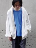 """【21SS】 my beautiful landlet (マイビューティフルランドレット)  """"SWITCHING URAKE HOODIE"""" <パーカー> - OFF WHITE"""