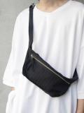 "【2020SS】 my beautiful landlet (マイビューティフルランドレット)  ""stripe wool shoulder bag"" <バッグ>"