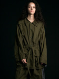 "【2020SS】 my beautiful landlet (マイビューティフルランドレット)  ""ripstop wide jacket"" <ジャケット/ブルゾン> - OLIVE"