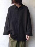 "【2020SS】 my beautiful landlet (マイビューティフルランドレット)  ""cotton linen big shirt"" <ビッグシャツ>"