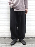 "【19AW】 my beautiful landlet (マイビューティフルランドレット)  ""vintage sweat wide easy pants"" <スウェットパンツ>"