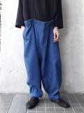 """【19SS】 my beautiful landlet (マイビューティフルランドレット)  """"denim big pants"""" <サスペンダーパンツ>"""