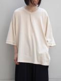 "【20AW】 my beautiful landlet (マイビューティフルランドレット)  ""cotton BIG T-shirt"" <カットソー> - KINARI"