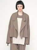 "【19SS】 my beautiful landlet (マイビューティフルランドレット)  ""short trench jacket"" <ジャケット>"
