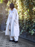 "【21SS】 my beautiful landlet (マイビューティフルランドレット)  ""8oz DENIM LONG COAT"" <デニムコート> - KINARI"