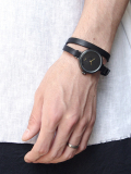 "【予約商品】 nejicommu ネジコミュ ""DIGNIFIED WRAP ROUND WRIST WATCH ""DOUBLE"""" <ダブルストラップ>"