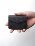 "Notive (ノーティヴ) // ""COIN CASE NJWF-03"" <レザーコインケース> - BLACK"