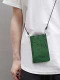 "Notive (ノーティヴ) // ""MICRO SHOULDER CASE NJWF-06"" <スマホケース サコッシュ> - GREEN"