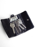 PATRICK STEPHAN (パトリックステファン) Leather key case 'all-studs' -  SILVER STUDS #106AAO14  <キーケース>