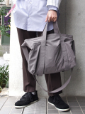"PATRICK STEPHAN (パトリックステファン) ""Fabric bag"" 'atelier' #171ABG01 <ショルダーバッグ> - DARK GRAY"