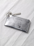 """PATRICK STEPHAN (パトリックステファン) """"Leather key case & holder"""" #171AAO28 <キーケース> - SCRATCH SILVER"""