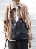 """PATRICK STEPHAN (パトリックステファン) """"Leather shoulder bag 'grande poche' KS"""" #193ABG04 <ショルダーバッグ ハンドバッグ>"""