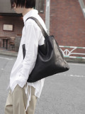 "PATRICK STEPHAN (パトリックステファン) ""Leather shoulder bag 'simple' 2"" #183ABG14 <トートバッグ>"