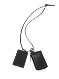 """<再入荷>PATRICK STEPHAN (パトリックステファン) """"Leather wallet & card case 'empty-handed' / oil tanned ネックウォレット"""" #183AWA06  <財布/カードケース>"""