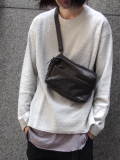 "PATRICK STEPHAN (パトリックステファン) ""Leather shoulder bag 'tofu'"" #162ABG07 <ショルダーバッグ/サコッシュ>"