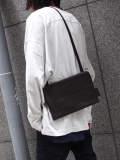 "PATRICK STEPHAN (パトリックステファン) ""Leather shoulder bag 'pouch'"" #181ABG03 <サコッシュバッグ>"