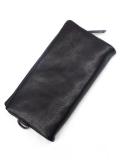 "PATRICK STEPHAN (パトリックステファン) ""Leather long wallet 'minimal' shine"" #112AWA33  <レザーウォレット/長財布>"