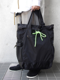 "【18AW】 SOE (ソーイ)  ""18AW 3WAY MULTI TOTE BAG"" <トートバッグ/バックパック> - BLACK"