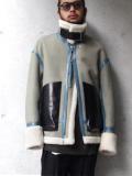 "【18AW】 SOE (ソーイ)  ""Leather Mouton B-3 Jacket"" <ムートンジャケット>"