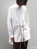 """【18AW】 SOE (ソーイ)  """"Poncho Shirt"""" <シャツ>"""