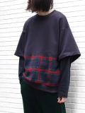 "【18AW】 SOE (ソーイ)  ""Layered Sweat Shirt"" <レイヤードスウェット>"