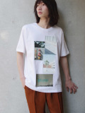 "【19SS】 soe (ソーイ)  ""H/S Crew Neck-T Photography by KENTO MORI"" <Tシャツ/カットソー>"