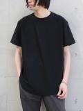 """【SALE:20SS】 soe (ソーイ)  """"ROUND HEM TALL T"""" <Tシャツ/カットソー> - BLACK"""